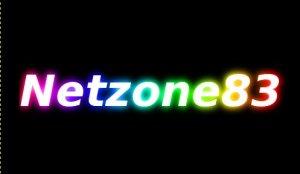 Gimp Créer un texte avec un effet de lumière multicolore