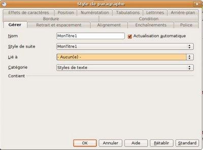 Openoffice writer styles de titres et num rotation - Numerotation des pages sur open office ...